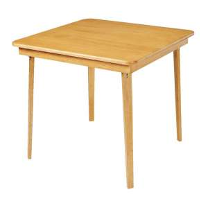 Meco Stakmore Straight Edge Folding Card Table