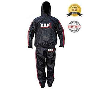 RAD Sauna Weight Loss Jacket Sweat Suits for Men, Women with Hood