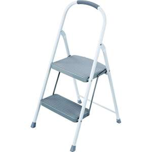 Rubbermaid 2 Step Steel Ladder 225lbs