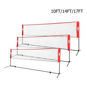 VIVIHOME Portable Height Badminton Set