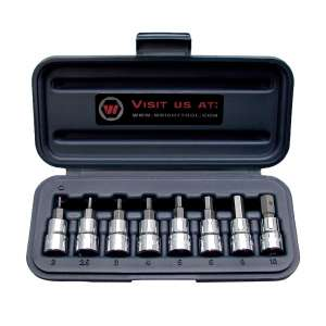 Wright Tool Drive Metric Socket Set 2mm to 10mm