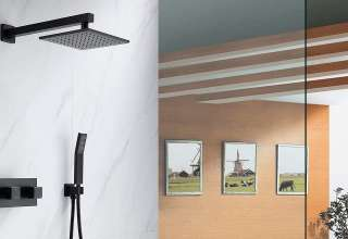 Waterfall Shower Heads