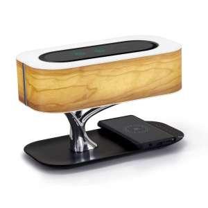 Ampulla Masdio Bedside Lamp with Bluetooth Speaker