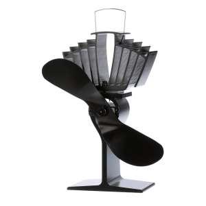 Ecofan Wood Stove Fan, Black Blade