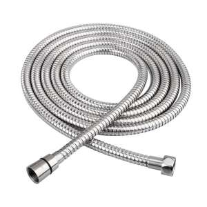 HOMEIDEAS 118 Inches 304-Stainless Steel Extra-Long Hose