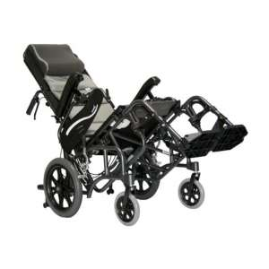 "Karman Healthcare Transport Wheelchair, 18"" Seat Width"