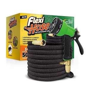 Flexi Hose and 8 Function Nozzle, Leak-Resistant