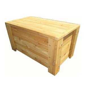 Premium Quality Cedar Storage Bench