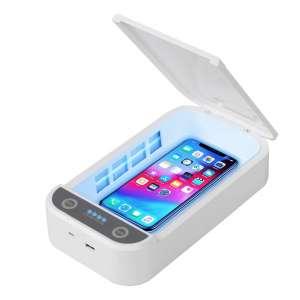 DJROLL Phone UV Sanitizer Portable UV Light Cell Phone Sanitizer
