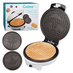 CucinaPro Pancake Maker with 2 Interchangeable Plates