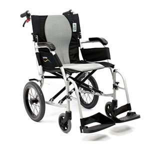 Karman Healthcare S-2512 Ultra-Lightweight Wheelchair, 18""