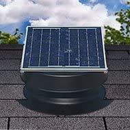 Natural Light Solar Attic Fan with 25-year Warranty