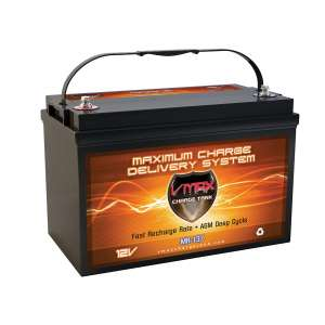 VMAXTANKS MR137-120 AGM Trolling Motors Battery