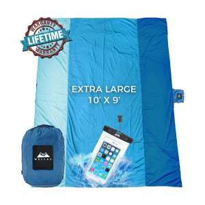 WELLAX Sand free Beach Blanket