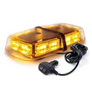 Xprite Amber Yellow 36 LED Emergency Strobe Lights 16 Flashing Modes