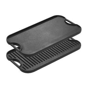 Lodge Pro-Grid Cast Iron Reversible Plate