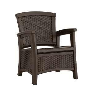 Suncast Elements Club Chair with Storage