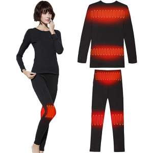 Sunwill Thermal Underwear Baselayer Clothing Men and Women Heated Clothing