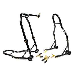 Venom Motorcycle Front Triple Tree and Rear Stands