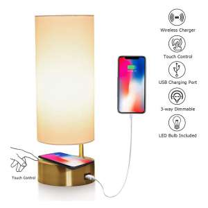 LEGELITE Touch Table Lamp with Wireless Charger