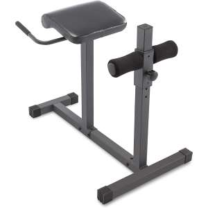 Marcy Adjustable Exercise Hyper Bench Hyperextension Roman Chair
