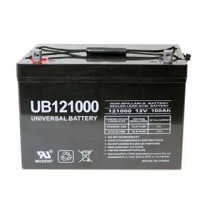 Universal Power Group Trolling Motor Battery