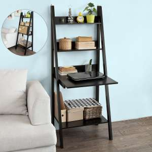 Haotian Modern Ladder Bookcase