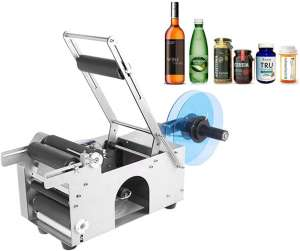 KUNHEWUHUA Semi-Automatic Bottle Labeler