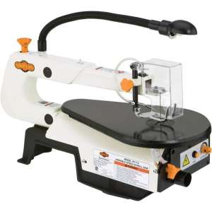 Shop Fox W1713 16inch Scroll Saw with Variable Speed