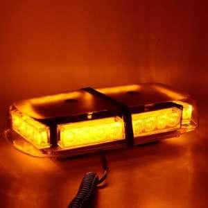 WoneNice LED Strobe 24 LED High Visibility Amber Lights