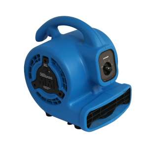 XPOWER P-80A Air Mover with In-Built Power Outlets