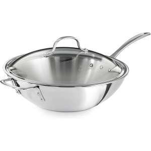 Calphalon Triply Stainless Steel 12 Inches Wok