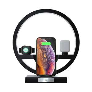 EBXYA Desk Lamp 3-In-1 Wireless Charger