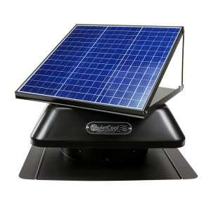 QuietCool 40-Watt Solar Powered Attic Fan