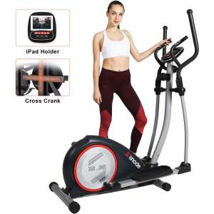 SNODE Magnetic Elliptical Exercise Machine for Home Fitness Workout