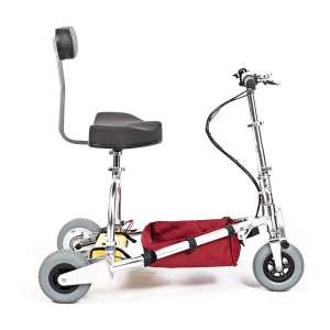 TravelScoot 35lbs Lightest Folding Scooter with Seat