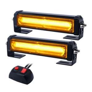 WOWTOU Amber Grille Light Head 16W Bright Led Mini Lights