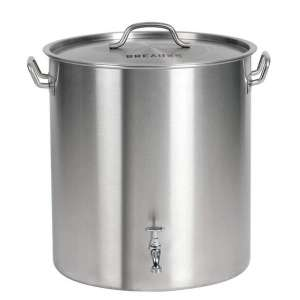 BREAUXS Stainless Stockpot with Deep Steamer