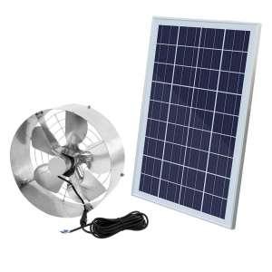 ECO LLC Solar-Powered Attic Fan