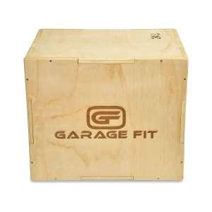 Garage Fit Wood Plyo Box