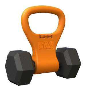 Kettle Gryp - Kettlebell Portable Adjustable Weight Grip Workout Gear for Bodybuilding