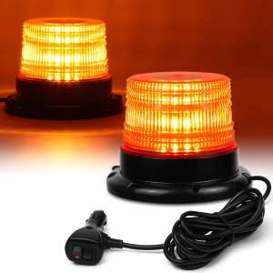 LINKITOM LED Strobe Light Amber 40 LED Warning Lights