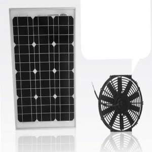 Amtrak Solar's 40-Watt Solar Attic Fan