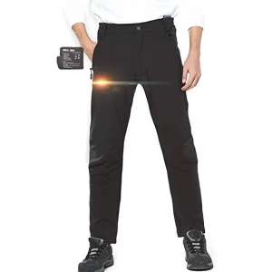 DEWBU 7.4v Rechargeable Heated Pants for Men and Women