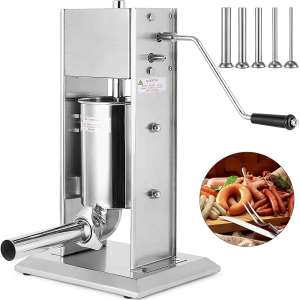 Happybuy Stainless Steel Sausage Stuffer