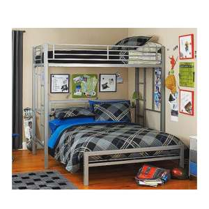 Your Zone Metal Frame Bed