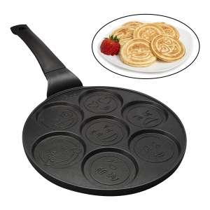Good Cooking Smiley Face Pancake Maker- Non-stick Surface
