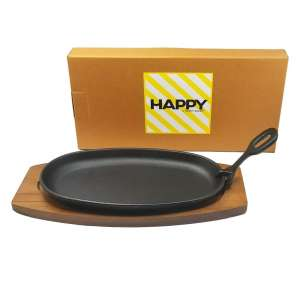Happy Sales Cast Iron Steak Plate