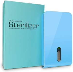 KMSOYI Phone UV Sanitizer Portable UV Light Cell Phone Sanitizer