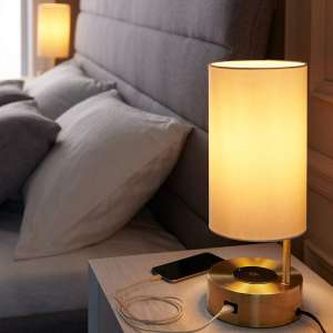 LAMPRESSION Table Lamp with Wireless Charger